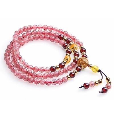 草莓晶手串